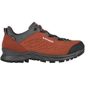 Lowa Explrr GTX Scarpe Basse Da Trekking Uomo, rosso/grigio
